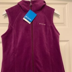 COLUMBIA Benton Springs HOODED VEST (S/P)